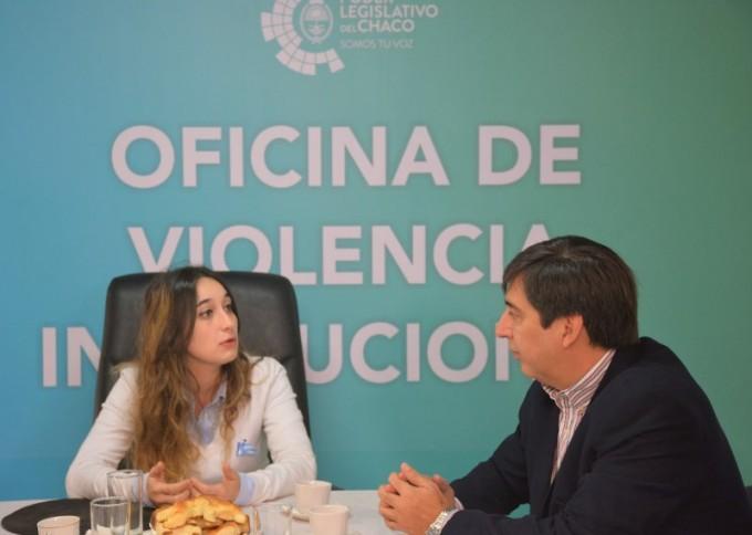 EL PODER LEGISLATIVO Y EL CONCEJO DE RESISTENCIA TRABAJARÁN EN CONJUNTO CONTRA LA VIOLENCIA LABORAL