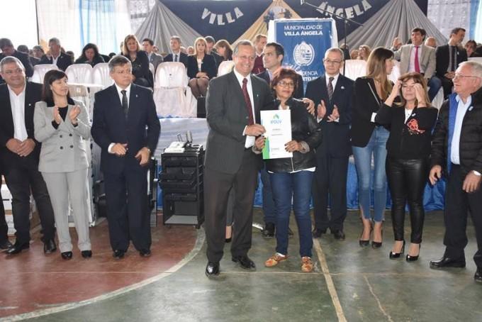 PAPP DESTACÓ LAS OBRAS EJECUTADAS EN EL 107 ANIVERSARIO DE VILLA ÁNGELA