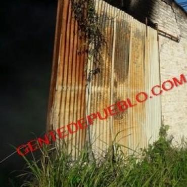 CURIOSO INCENDIO EN UN DEPÓSITO