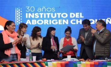 CUESTA Y PEPPO PARTICIPARON DEL ACTO PARA CELEBRAR EL 30° ANIVERSARIO DEL IDACH