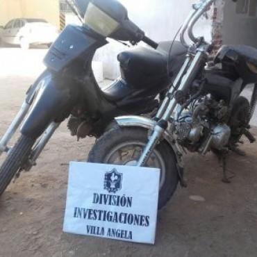 RECUPERAN DOS MOTOCICLETAS ROBADAS