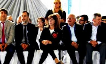 LA DIPUTADA MARIANA SALOM PARTICIPO DEL CUMPLEAÑOS DE LA CIUDAD