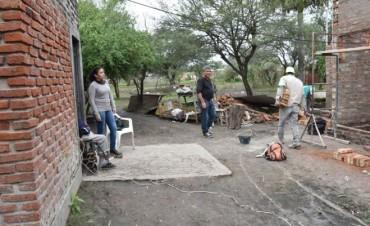 EL MUNICIPIO CONSTRUYE SOLUCIONES HABITACIONALES EN EL SECTOR K DEL LOTE 20