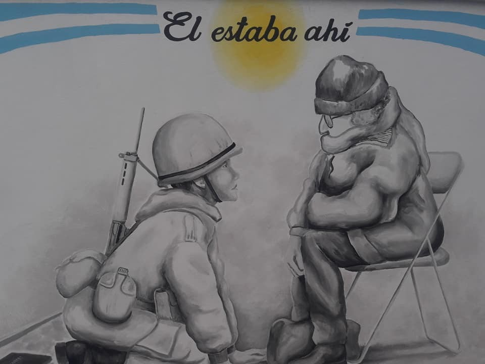 EL ARTISTA JOSE GARAY TERMINO SU OBRA: