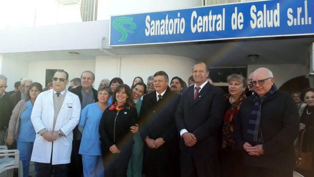 INTENDENTE Y GOBERNADOR PARTICIPARON DEL ACTO POR LOS 50 AÑOS DEL SANATORIO CENTRAL