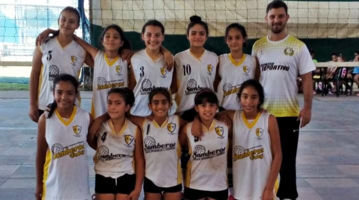 EXCELENTES RESULTADOS DEPORTIVOS PARA LAS CHICAS DEL VOLEY DEL CLUB SAMBEROS