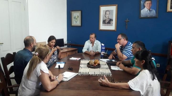 EL INTENDENTE PAPP EN REUNIÓN CON REPRESENTANTES DE LA ASOCIACIÓN CIVIL PRESTADORES DE TURISMO RECEPTIVO EN EL CHACO