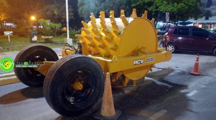 EL MUNICIPIO CONCRETO LA COMPRA DE UN RODILLO COMPACTADOR PATA DE CABRA