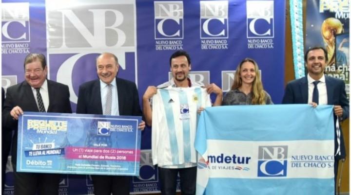 EL NBCH PRESENTÓ AL VILLANGELENSE, GANADOR DEL VIAJE AL MUNDIAL DE RUSIA