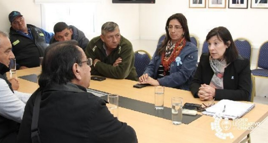 Diputados recibieron a representantes de la Uocra, quienes manifestaron su preocupación por la actualidad del sector