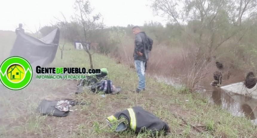 EN ACCIDENTE DE TRANSITO SOBRE RUTA 95 HUBO UNA PERSONA FALLECIDA