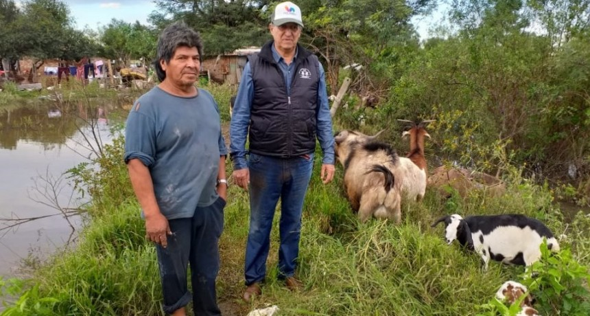 El A.P.A TAPÓ UN CANAL Y INUNDÓ EL BARRIO SANTA TERESITA
