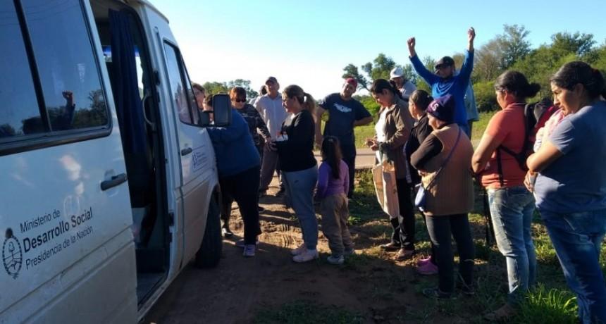 EL MUNICIPIO CONTINÚA CON LOS OPERATIVOS DE ASISTENCIA EN EL MARCO DE LA EMERGENCIA HÍDRICA