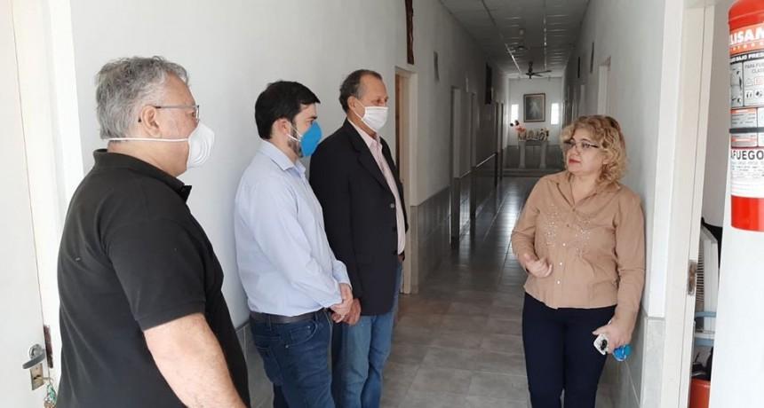 ADALBERTO PAPP DESTACÓ EL TRABAJO EN CONJUNTO PARA HABILITAR EL ALBERGUE