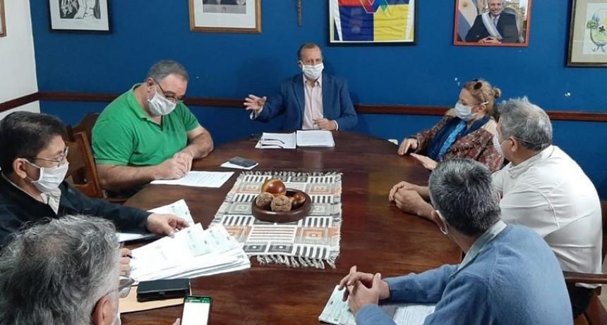 ADALBERTO PAPP TRABAJA EN LA ORGANIZACIÓN SANITARIA ANTE LA POSIBLE LLEGADA DEL CORONAVIRUS
