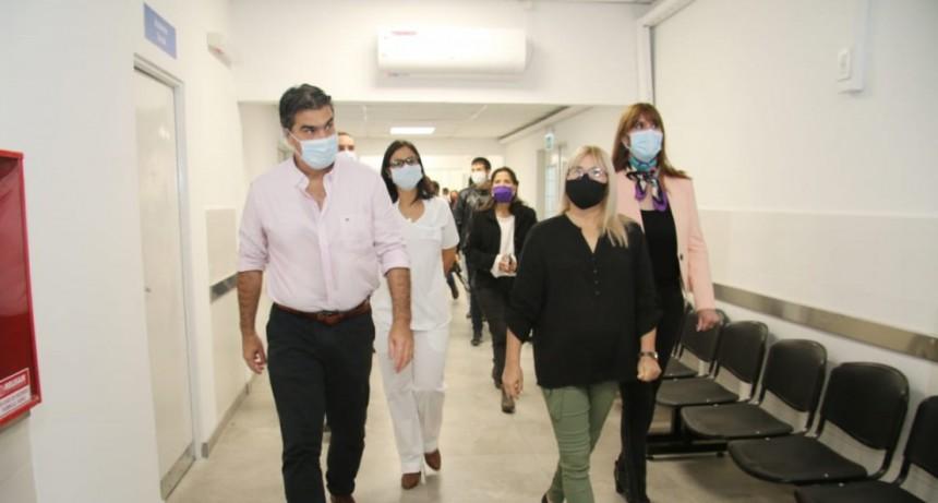 CAPITANICH INAUGURÓ OBRAS DE AMPLIACIÓN Y REFACCIÓN EN EL HOSPITAL DE FONTANA: