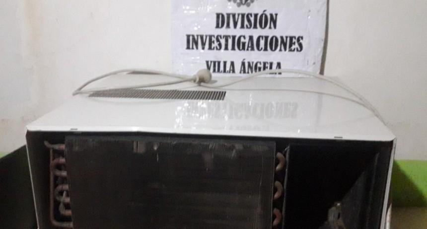 SE AUSENTO DE SU HOGAR Y LE ROBARON HASTA EL AIRE ACONDICIONADO