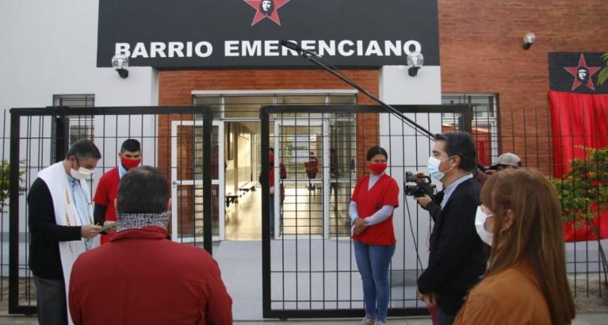 CAPITANICH INAUGURÓ LAS AMPLIACIONES DEL CENTRO DE SALUD DEL BARRIO EMERENCIANO