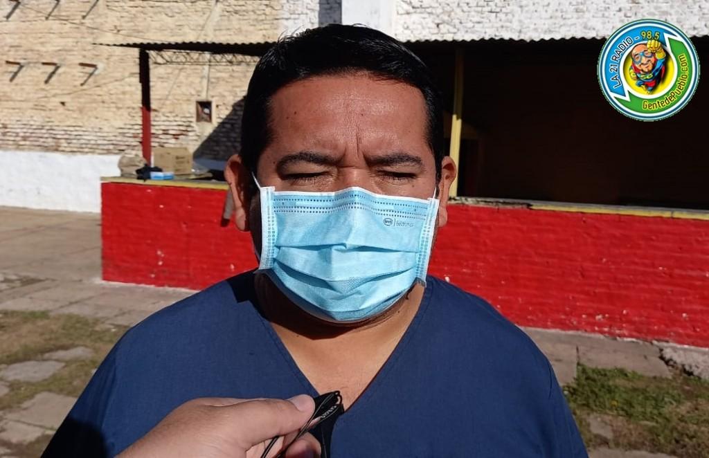 """""""LOS HISOPADOS SE HACEN DE ACUERDO A LA DEMANDA DE PACIENTES QUE VIENEN AL HOSPITAL"""""""