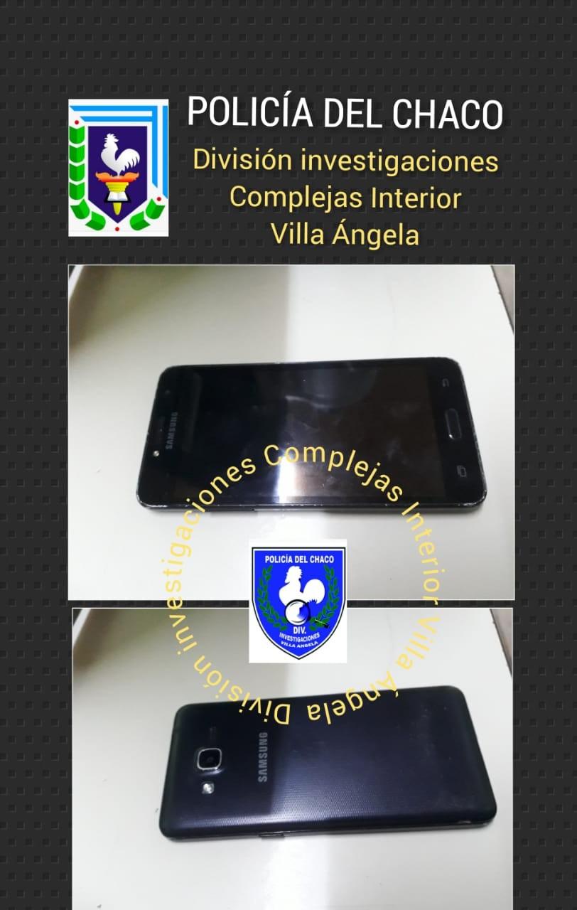LE ROBO A UN POLICÍA DOS TELÉFONOS CELULAR Y $16.800 PERO INVESTIGACIONES LO ATRAPÓ