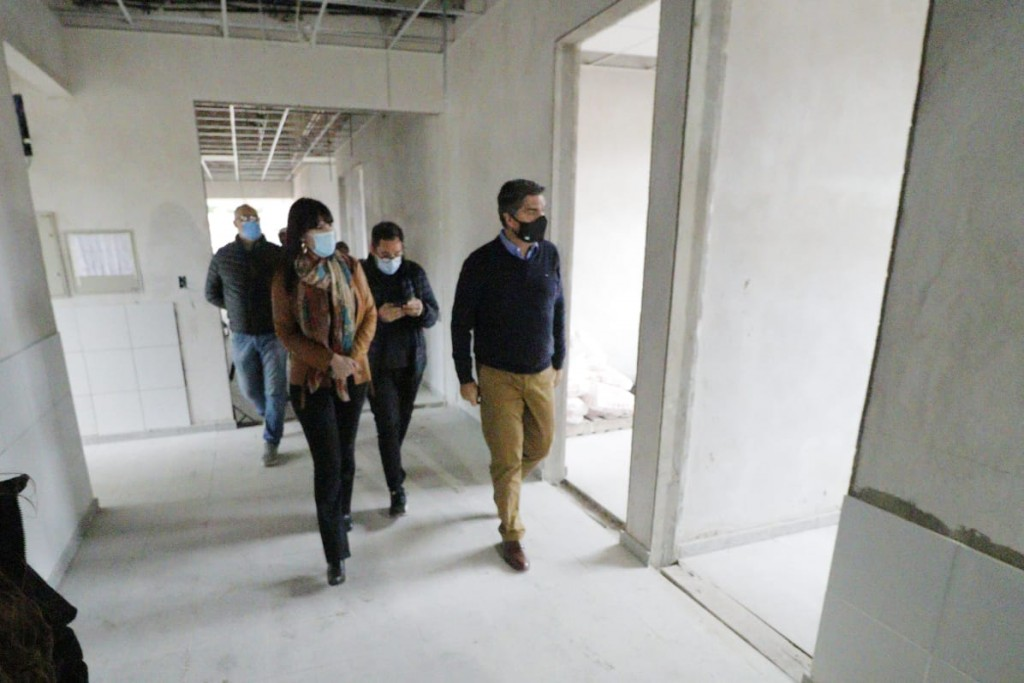 FONTANA: PROVINCIA AVANZA CON LAS OBRAS DEL CENTRO DE SALUD, DEL REGISTRO CIVIL Y DE LA  PLAZOLETA