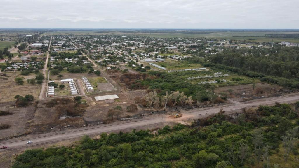 SAN BERNARDO: AVANZA EL DESARROLLO DE LOTES URBANOS PARA BRINDAR SOLUCIONES HABITACIONALES A LA COMUNIDAD