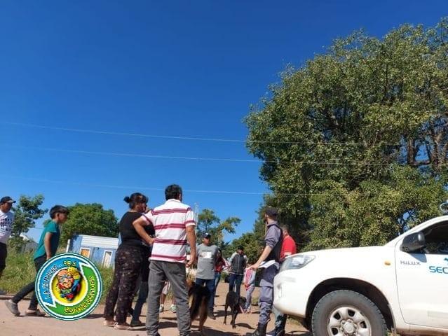 LA POLICIA SE ENTERO POR LAS REDES SOCIALES DE UNA FIESTA CLANDESTINA Y JUNTO A SECHEEP CORTARON LA LUZ