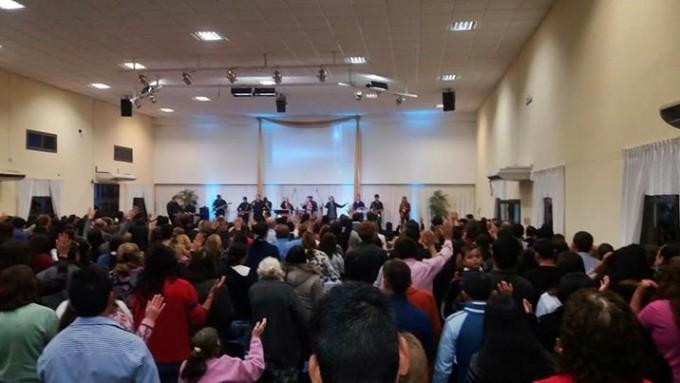 EN UNIDAD LAS IGLESIAS EVANGÉLICAS CELEBRARON EL PENTECOSTÉS