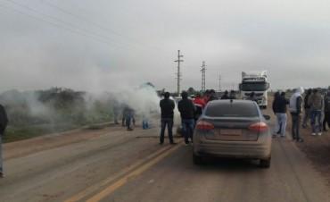 """""""ESTAMOS CANSADOS QUE LA GENDARMERIA DE CHACO NOS SAQUE TODAS LAS COSAS"""""""