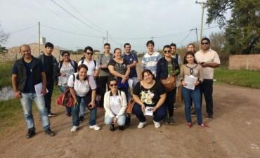 EL MUNICIPIO ACOMPAÑA A LOS ALUMNOS DE LA UEGP N° 172 EN SUS PRÁCTICAS