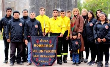 A UN AÑO DE TENER SU SEDE PROPIA BOMBEROS VOLUNTARIOS SIGUE APOSTANDO AL CRECIMIENTO DE SAN BERNARDO
