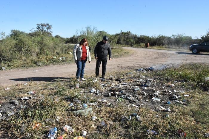 INCESANTE TRABAJO MUNICIPAL PARA ERRADICAR LOS BASURALES A CIELO ABIERTO