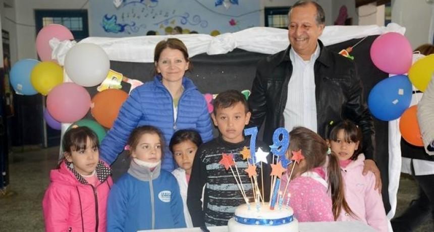 "· PAPP FESTEJÓ JUNTO A LA COMUNIDAD EDUCATIVA EL 79° ANIVERSARIO DE LA EEP N°389 ""EDUARDO R. BATTIONI"""