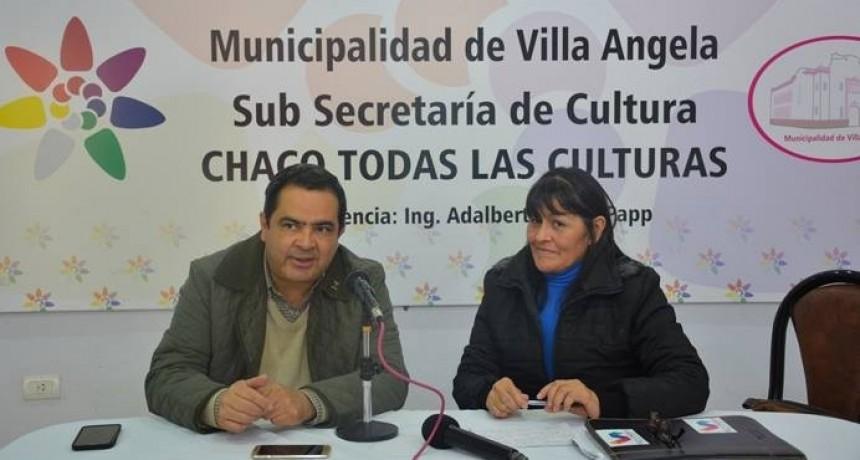 CULTURA INVITA A PARTICIPAR DE LA PRE FIESTA NACIONAL DEL CHAMAMÉ SUB SEDE VILLA ÁNGELA