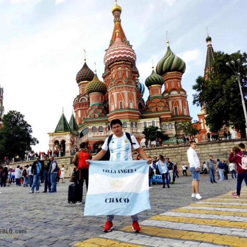 """LUIS MONTENEGRO: """"ESTAR EN RUSIA, ES UN SUEÑO HECHO REALIDAD"""""""