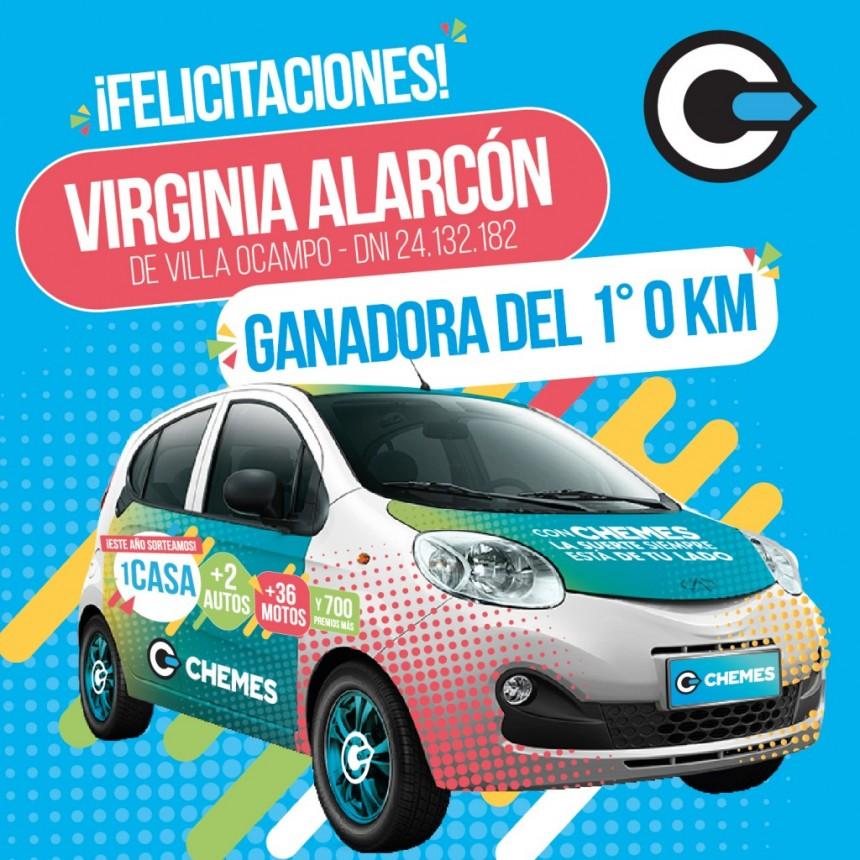 CHEMES YA TIENE A LA GANADORA DEL 1° AUTO 0KM CHERY QQ