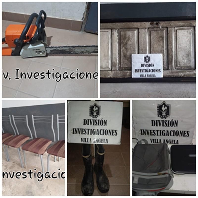 INVESTIGACIONES SIGUE RECUPERANDO COSAS ROBADAS Y VENDIDAS EN LA CIUDAD