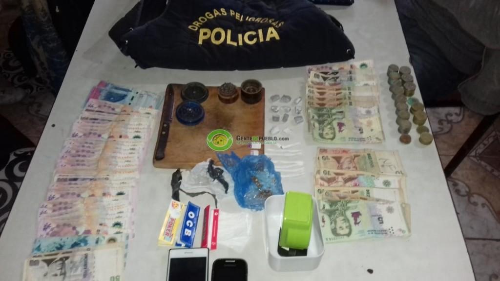 GOLPE AL NARCOMENUDEO: DESBARATAN CENTRO DE VENTA DE DROGAS.