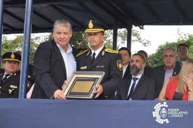 EL PODER LEGISLATIVO ACOMPAÑÓ LA CONMEMORACIÓN DEL 66º ANIVERSARIO DE LA POLICÍA DEL CHACO