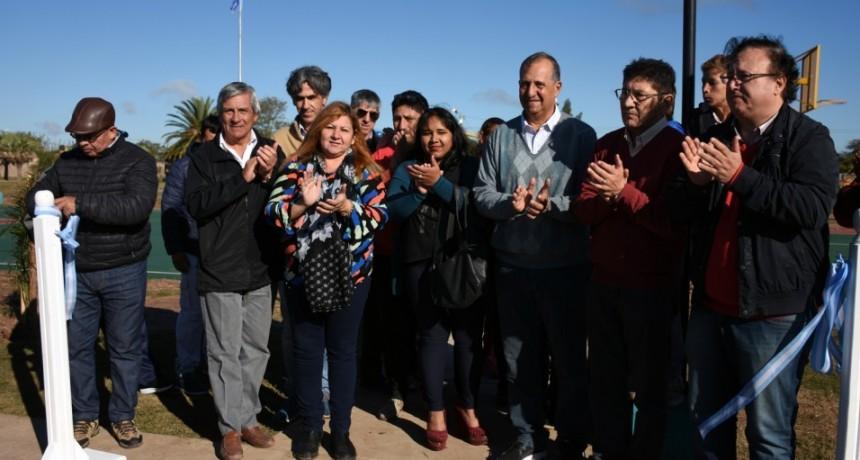 PAPP INAUGURÓ LA OBRA DE REFACCIÓN INTEGRAL DE LA PLAZA DEL BARRIO SARGENTO CABRAL