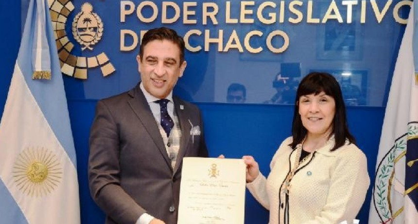 ACADEMIA BELGRANIANA OTORGÓ IMPORTANTE RECONOCIMIENTO A LA PRESIDENTA DEL PODER LEGISLATIVO