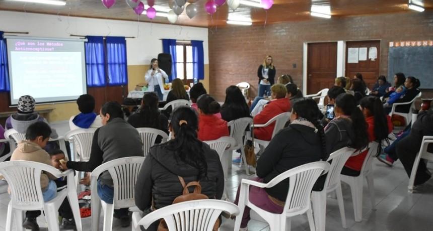 SATISFACTORIA CONVOCATORIA EN LA CHARLA POR EL DÍA INTERNACIONAL DE LA ACCIÓN POR LA SALUD DE LA MUJER