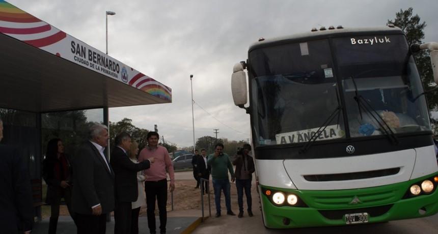 ACTO PROTOCOLAR POR EL ANIVERSARIO 86 DE SAN BERNARDO