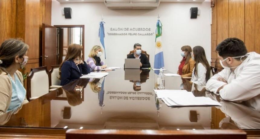 CAPITANICH RECIBIÓ A MÉDICOS RESIDENTES Y RATIFICÓ MEJORAR SUS CONDICIONES LABORALES