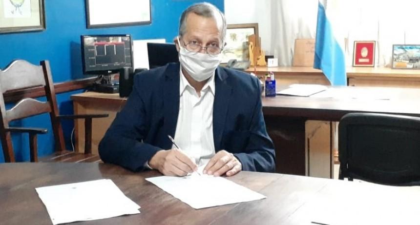 """EL MUNICIPIO FIRMÓ UN CONVENIO PARA LA UTILIZACIÓN DEL PREDIO DE LA EX FÁBRICA """"LA CHAQUEÑA"""""""