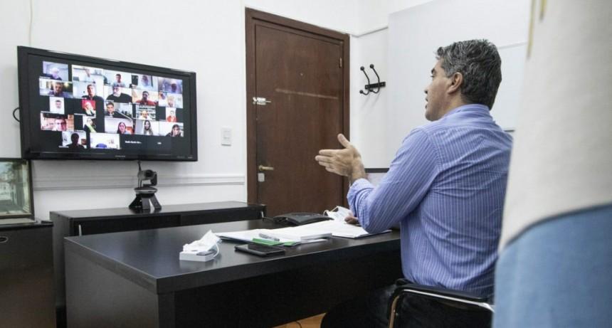 CAPITANICH Y DIPUTADOS AVANZAN EN UNA INICIATIVA LEGISLATIVA PARA REGULAR EL AISLAMIENTO DE PACIENTES LEVES