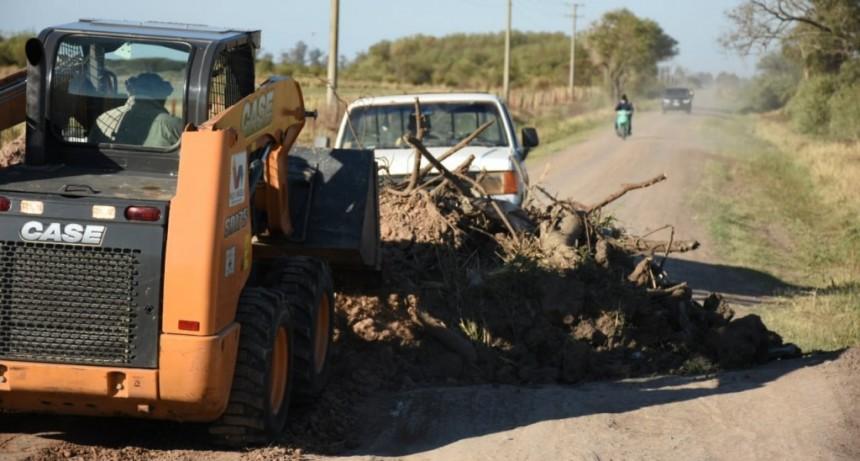 EL MUNICIPIO CONTINÚA CON LOS CIERRES DE ACCESOS ALTERNATIVOS