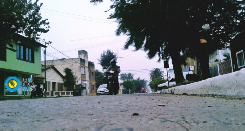 MIÉRCOLES NUBLADO Y CON UNA TEMPERATURA MÁXIMA DE 20° PARA LA CIUDAD