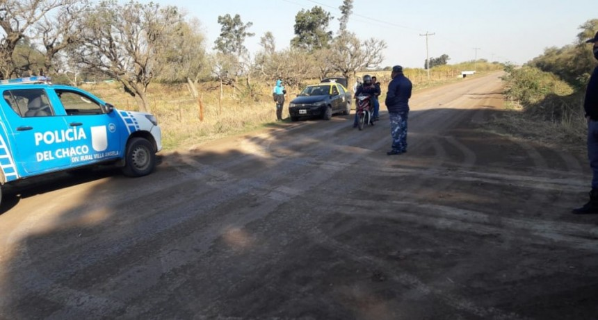 LA POLICIA DETUVO UN TAXI CON PASAJEROS DE QUILMES QUE VENIAN A SAENZ PEÑA