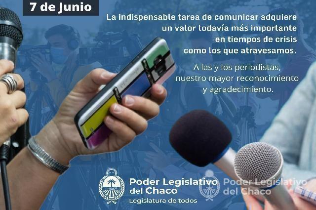 LEGISLADORES DESTACAN EL VALIOSO TRABAJO DE LOS COMUNICADORES SOCIALES EN EL DÍA DEL PERIODISTA